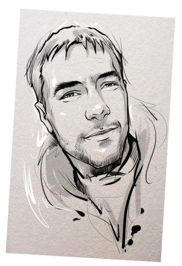 Портрет карандашом любимому мужу в Перьми…