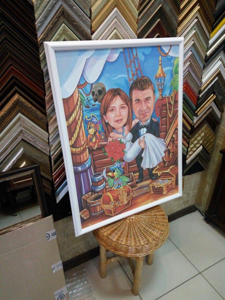 портрет шарж на заказ в перми