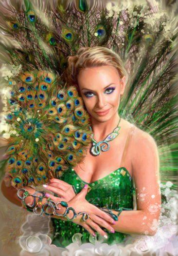 Портрет по фото, подарок на 14 февраля. Заказать в Перми.