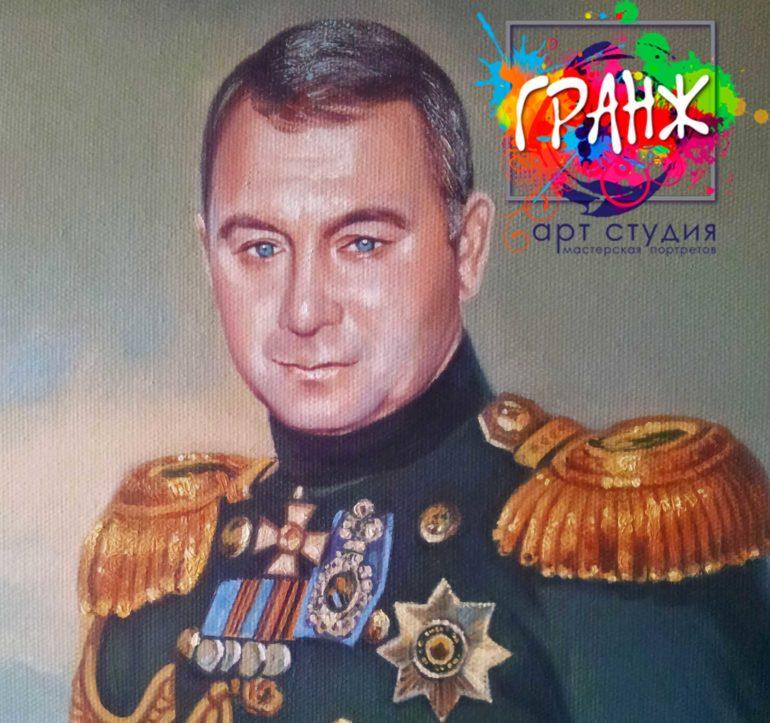 Заказать портрет маслом в Перми
