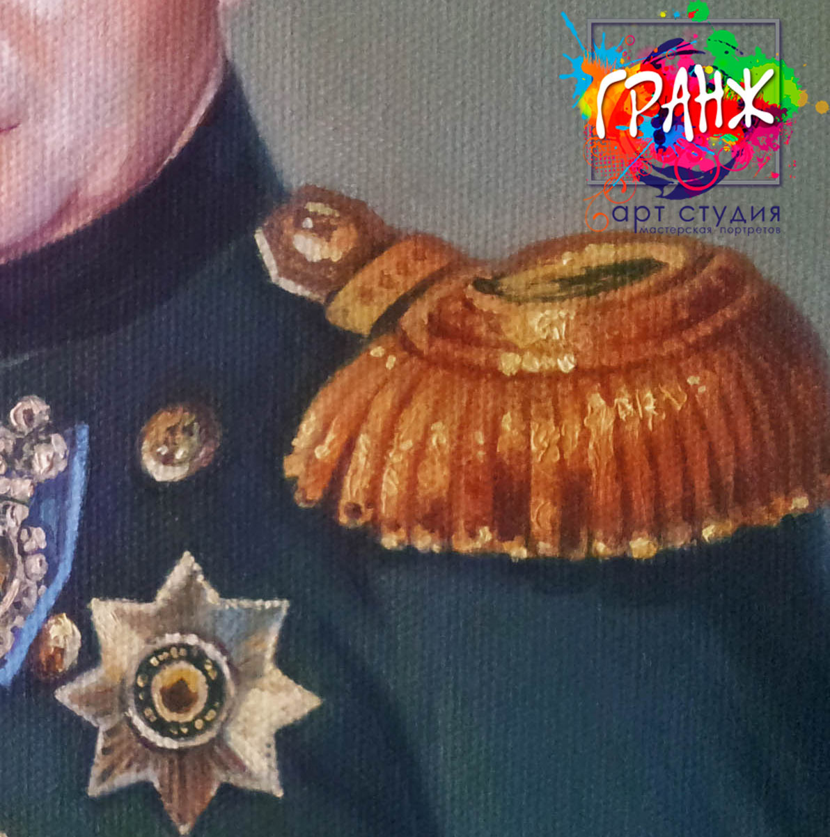 Заказать портрет маслом по фотографии в Перми
